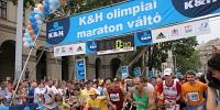 K&H olimpiai maraton váltó